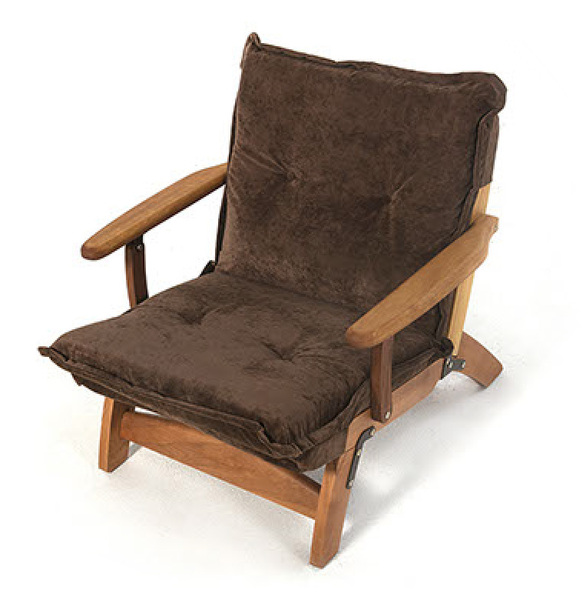 INT-CMF-100-Lounge Chair made from Iroko wood-modular