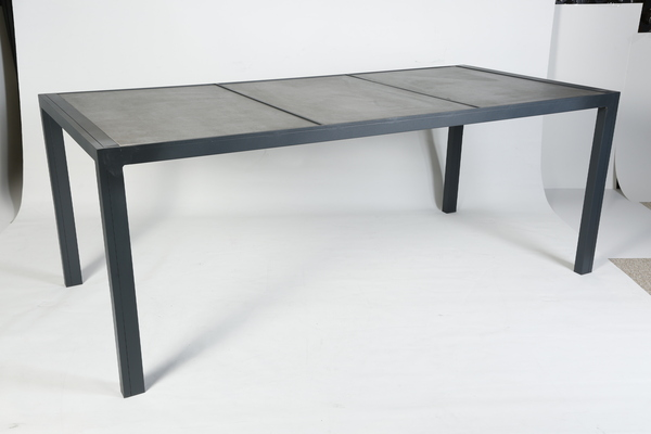 GRD-ALMTBL-194X90-Aluminum Table with Ceramic Top