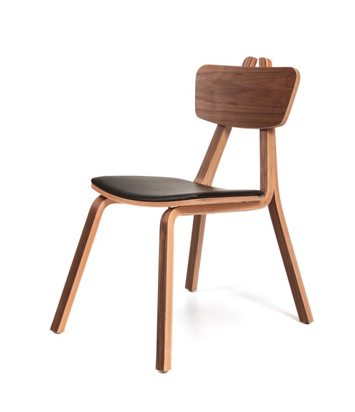 SNC-229-Armchair Metal Frame, Seat and Back Wooden