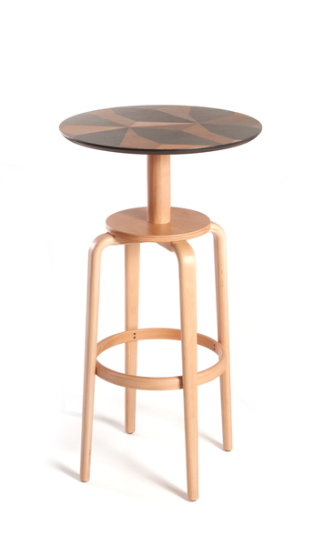 YSK-IRSH-BRTBL-Bar Table H110cm wooden