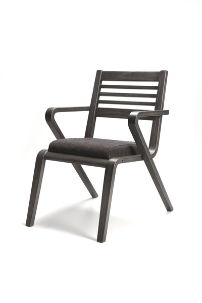 YSK-MDS-D-Chair wood frame Upholstered seat