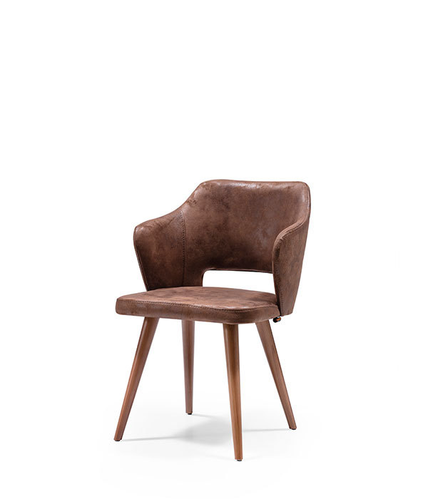 SNC-251-Chair Wooden frame upholstered