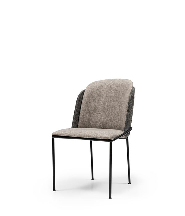 SNC-263-Chair Metal frame Upholstered seat and back