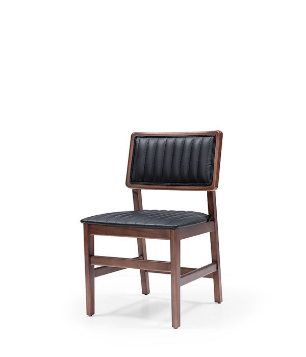 SNC-269-Chair Wooden frame seat and back upholstered