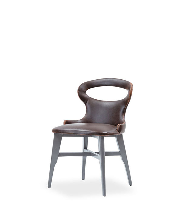 SNC-284-Chair Wooden frame upholstered