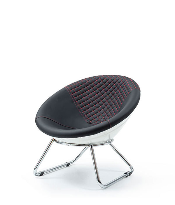DCS-108-T-Metal Stool Seat Upholstered