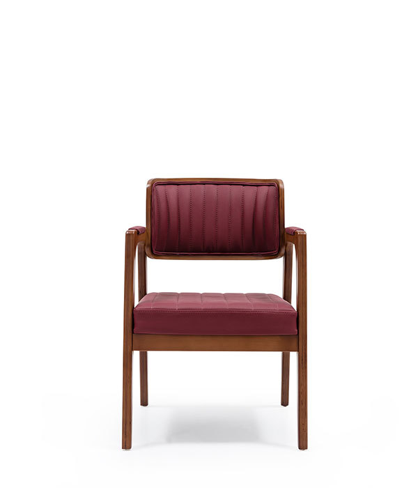 SNC-336-Armchair ,Wooden frame seat and back upholstered