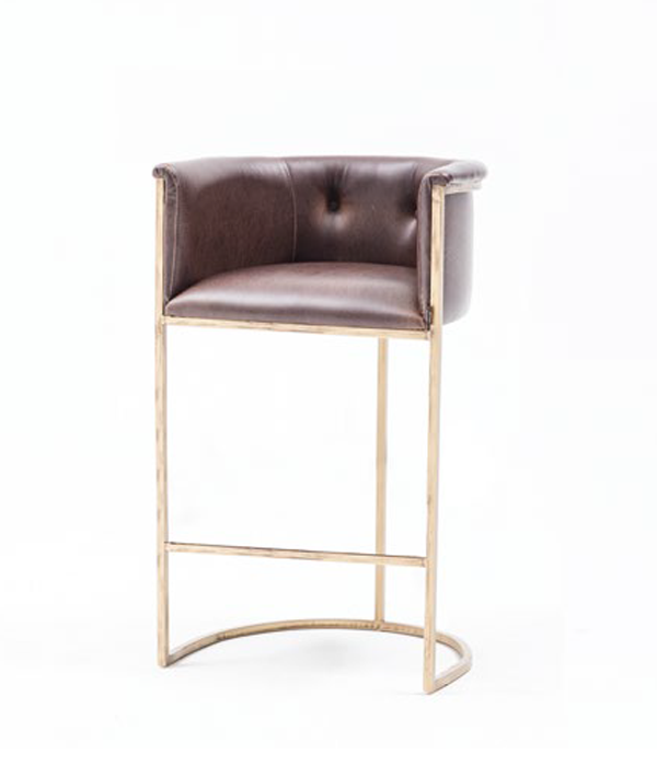 SRP-PR2-54-Wooden Bar Chair -Wooden-Leather