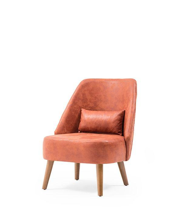 SNC-225-1-Armchair, Metal Frame Upholstered seat and back