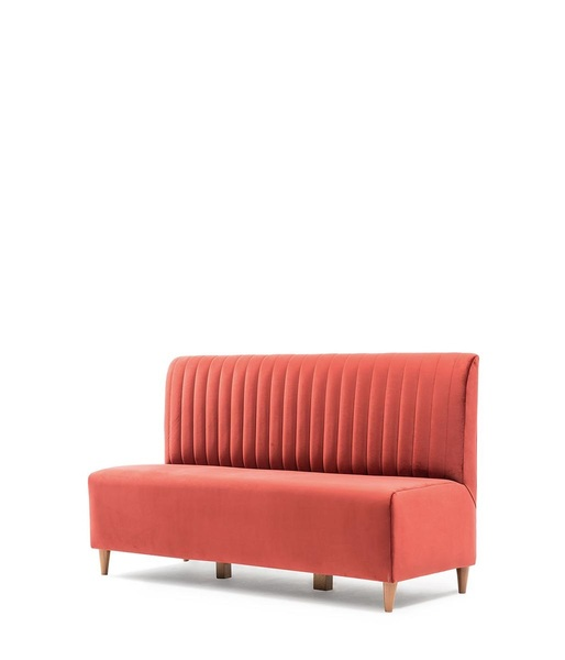 SFF-PL200-Two Seater Sofa Metal Frame Upholstered