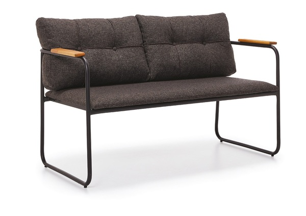 DCS-S117-T-Metal Sofa two seater