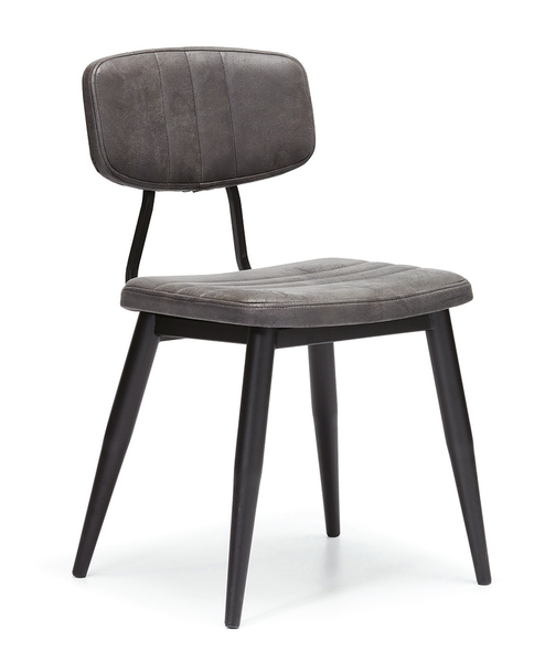 DCS-S124-Dining Chair-Metal Frame