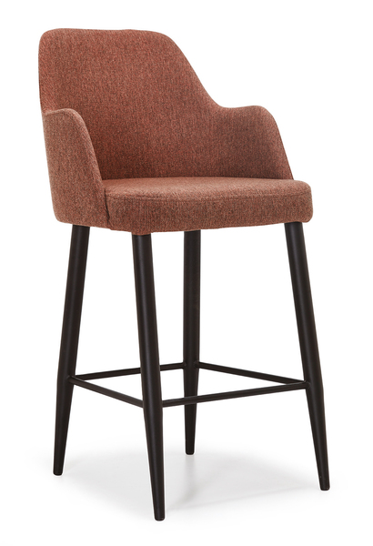 DCS-S124-B-Bar Chair Metal frame