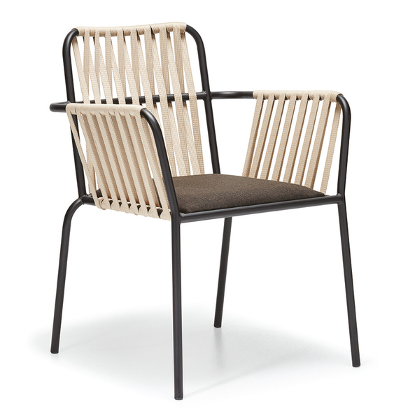 DCS-S-111-Dining Chair -Metal Frame, Upholstered Chair