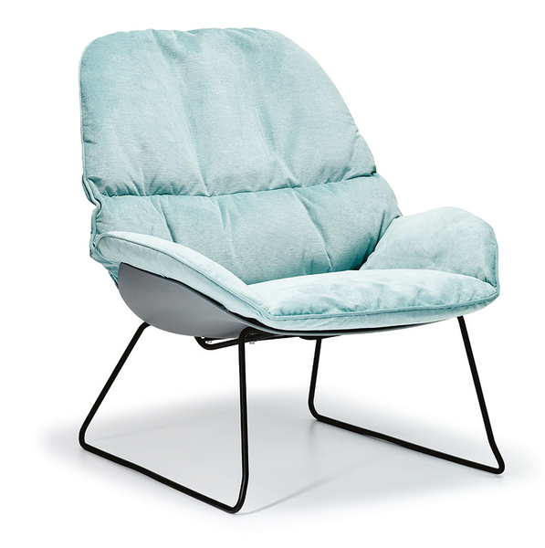 SFF-DO100-Armchair Metal Leg Upholstered