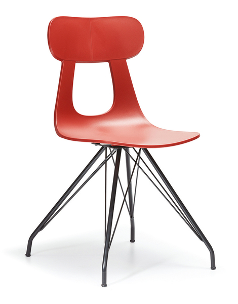SRP-MD2 Metal Chair Seat and Back Fabric or Leather