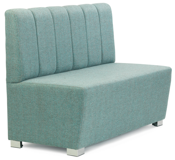 SRP-RJSR- Stage Manager Armchair Stainless Steel-Seat and Back Upholstered