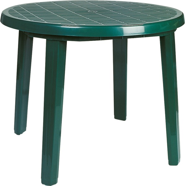SST-125-Round Plastic Table