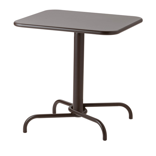 ELT-278-Table Metal Top Metal Base