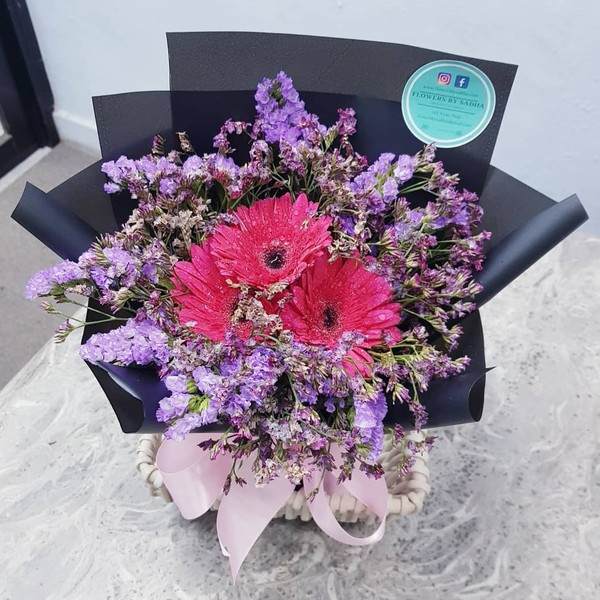 Gerbera Bouquet with FREE DELIVERY