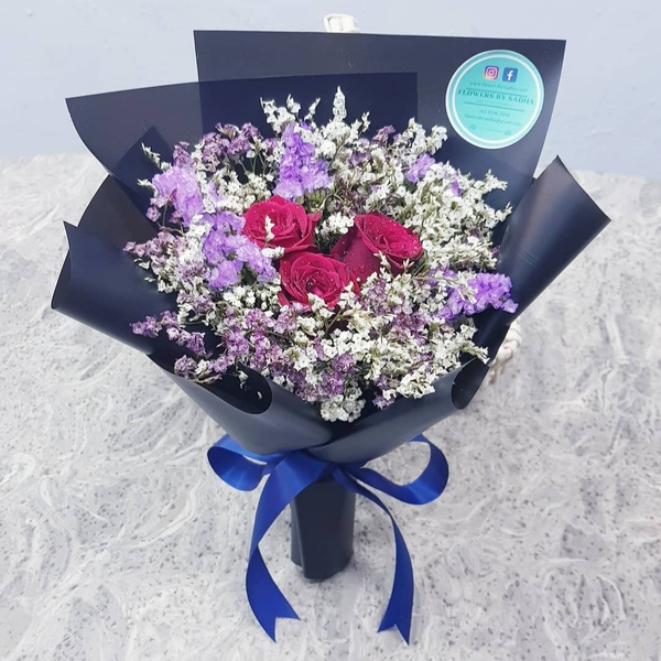Rose Bouquet with FREE DELIVERY