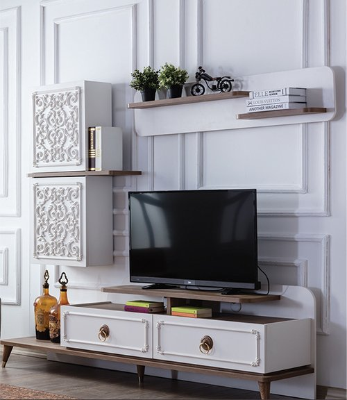 ROBERTO COLORED WALL UNIT