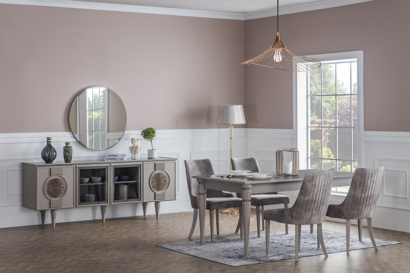 BOSTON CREAM STİL DININGROOM