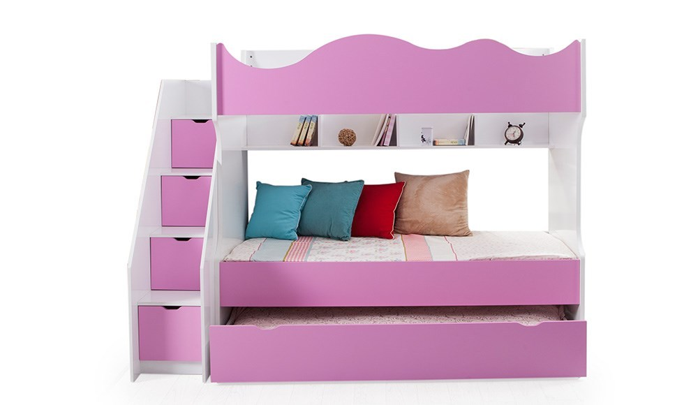 Stockbett Rosa / 412.026