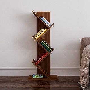 Scaffali Per Libri Design.Root Bookcase Walnut