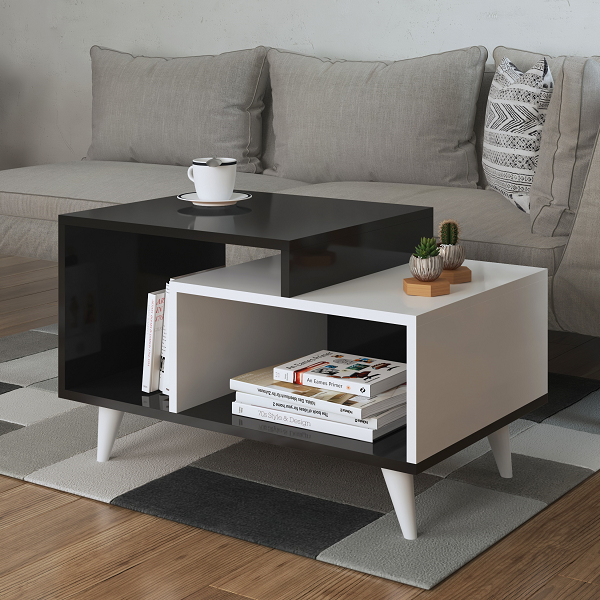 Whisper Coffee Table Avola White
