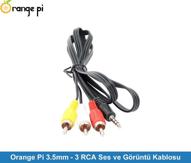 3.5mm - 3 RCA Sound and Video Cable
