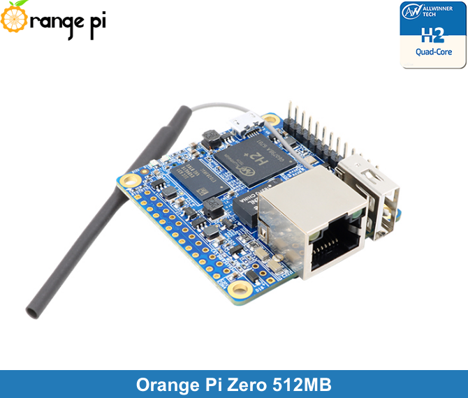 Orange Pi Zero 512 MB