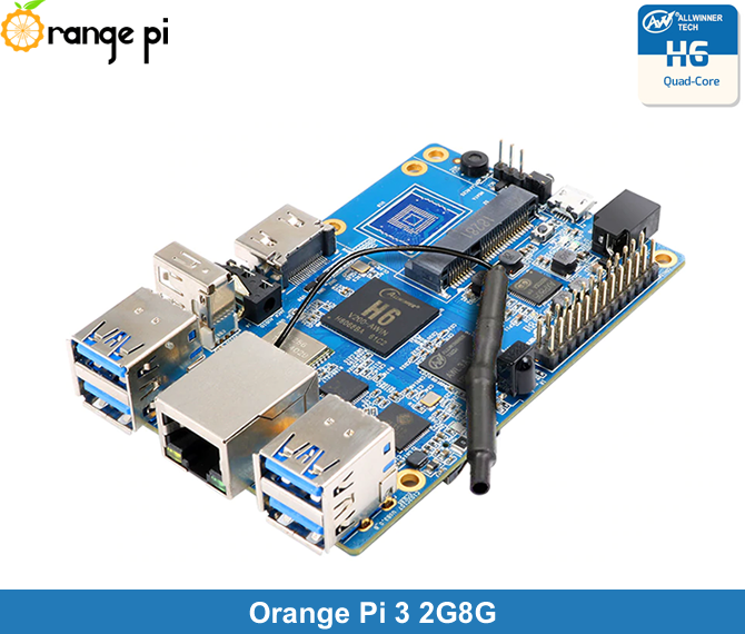 Orange Pi 3 2 GB