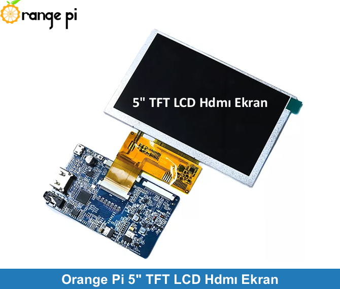 "Orange Pi 5"" TFT LCD HDMI Screen"