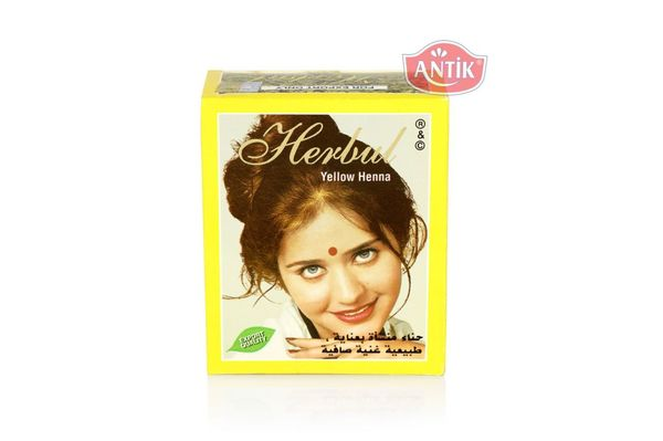 Indian Henna Herbul Yellow