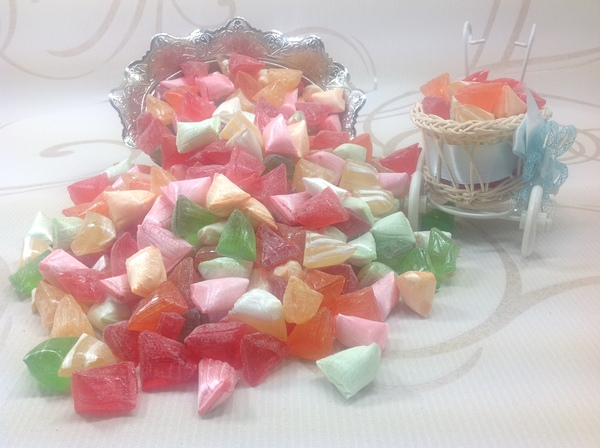 Sugar Candy Mixed Triangle 500 gr