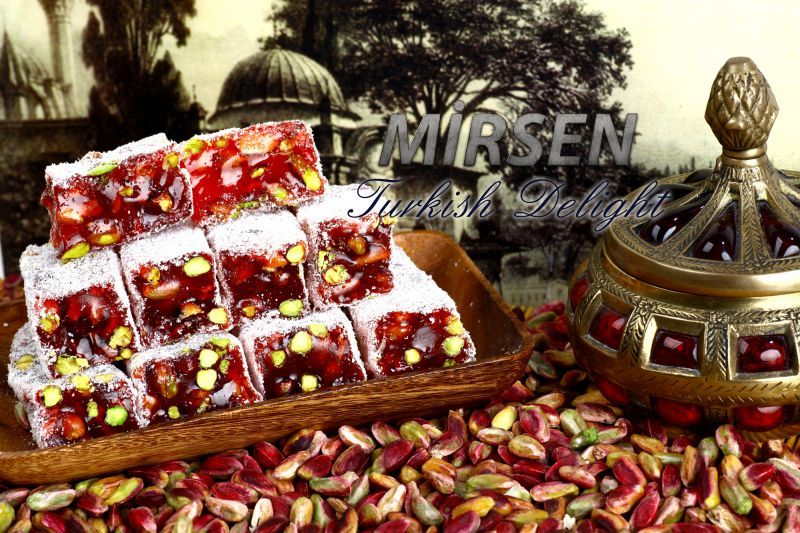 Sadrazam Turkish Delight With Pomegranate 500 gr
