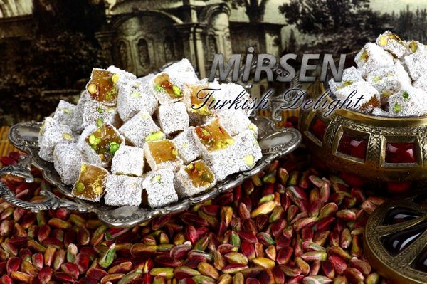 Double Turkish Delight With Coconut 500 gr
