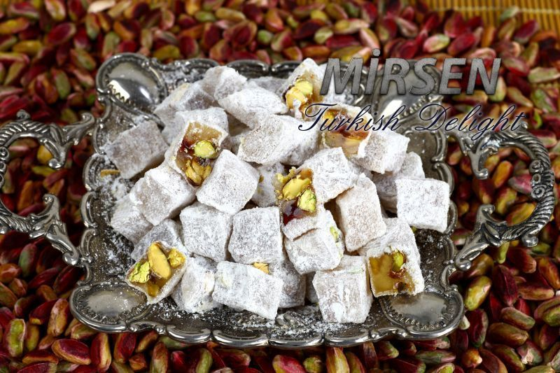 Double Turkish Delight With Pistachio 500 gr