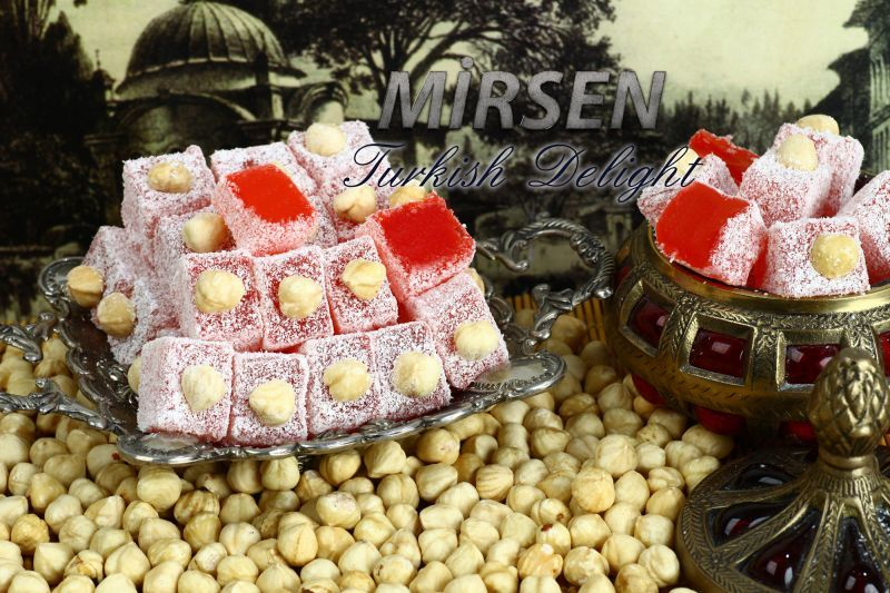 Turkish Delight With Pomegranate 500 gr