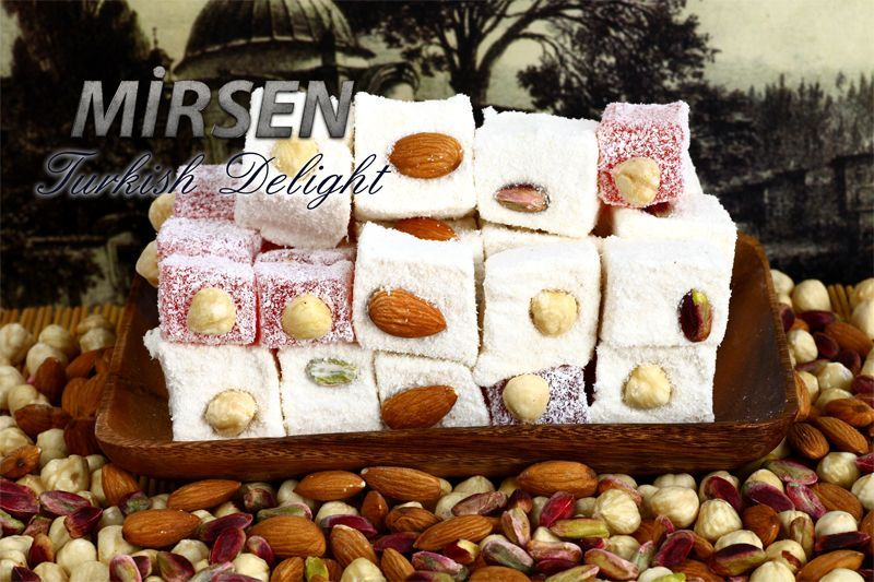 Sultan Mixed Turkish Delight 500 gr
