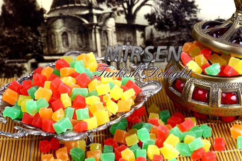 Fruit Flavoured Turkish Delight 500 gr