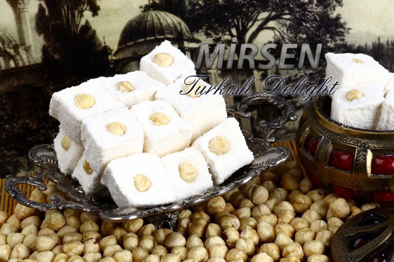 Sultan Turkish Delight With Hazelnut 500 gr