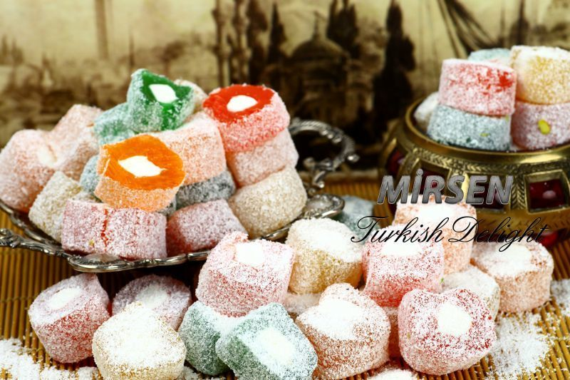 Fruit Flavoured Mixed Turkish Delight 500 gr