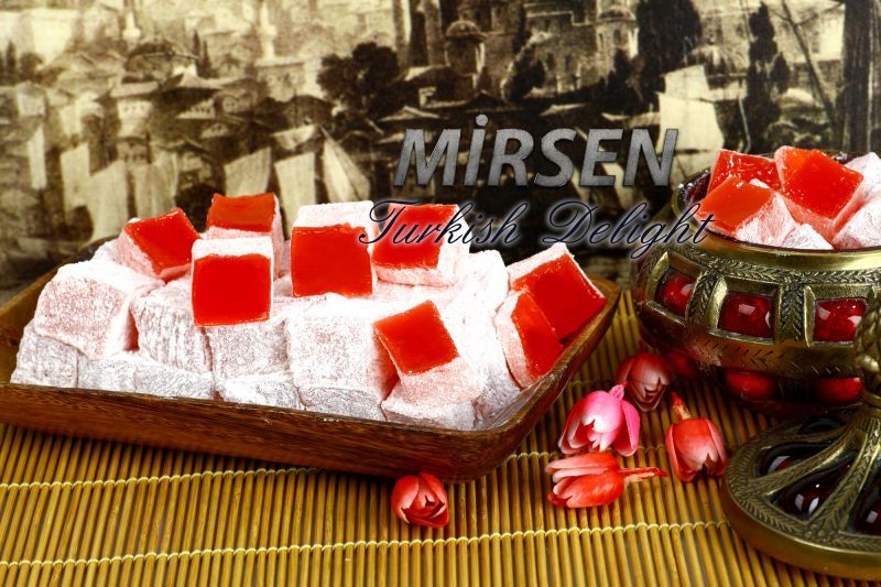 Turkish Delight With Rose 500 gr