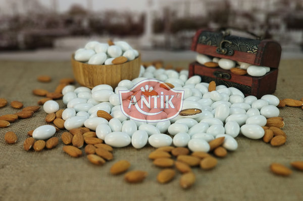Chocolate Coated Almond Candy Pearl 500 gr