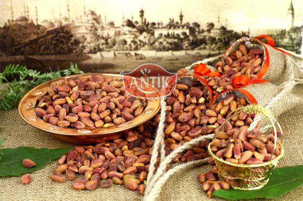 Antep Pistachios Kernel Salted Roasted Red 500 gr
