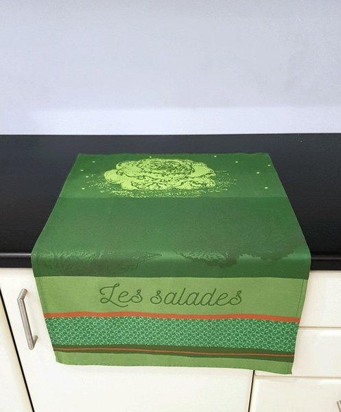 Les Salades Tea Towel