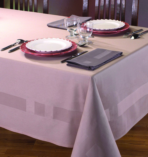Elegant White Table Cloth