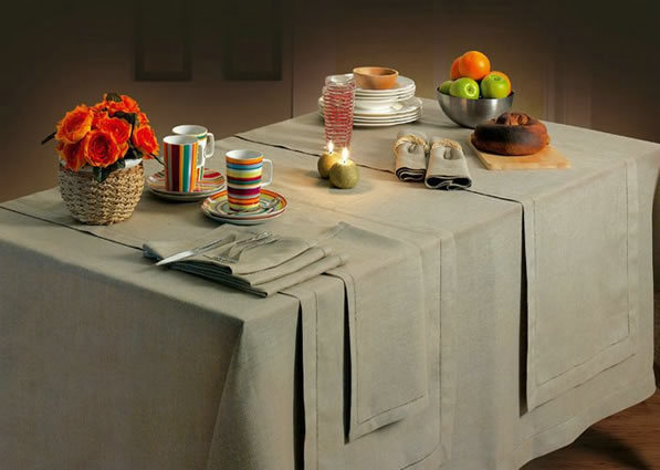 Table Clothes - Linen - Yarn Dye
